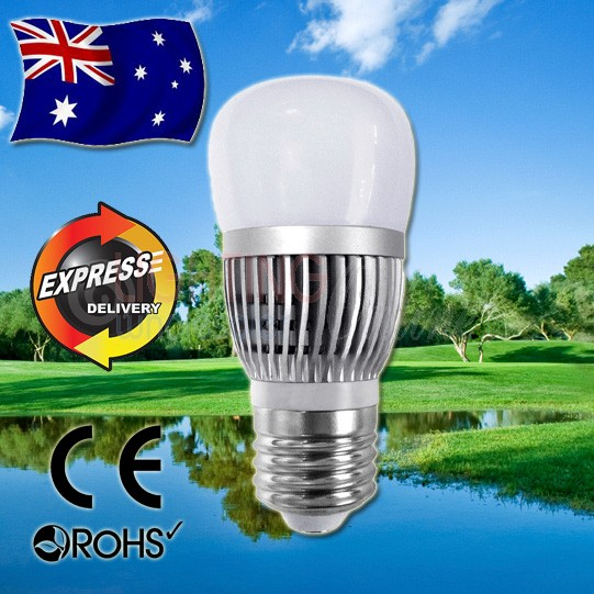 AKESI LED Frost Glass Globe - 6W