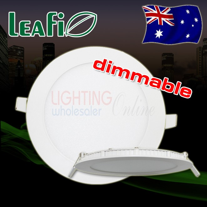 5 x LEAFI Dimmable 9W Recessed LED Ceiling Down Light Panel Energy Saving Ceiling Lamp