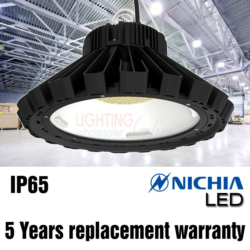 LUMMAX 120W IP65 LED High Bay Light - Nichia SMD LED - 5 Yr Warranty