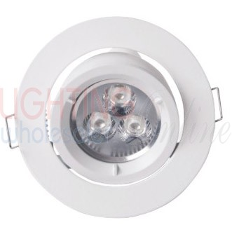 Carton of 50 x GU10 Energy Efficient Downlight - 90mm Cutout