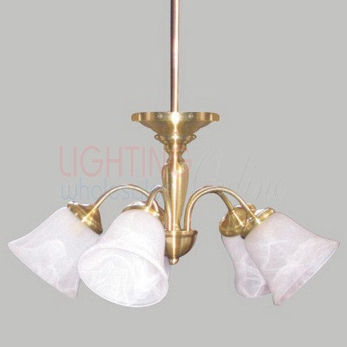 Traditional Style Length Adjustable Ceiling Pendant Light - 3 Lamps