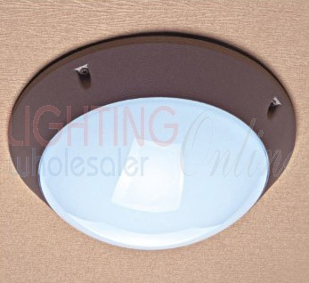 Outdoor Aluminium Die-Casting Round Bunker Light