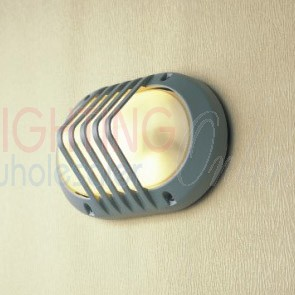 Outdoor Oval Aluminum Die-casting Grill Bulkhead Light