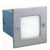 LUMMAX Square Recessed Wall LED Light - 105 x 105 x 86mm