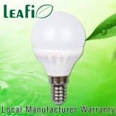 LEAFI 5W E14 Base LED Energy Saving Globes Bulbs Lamps