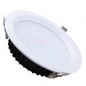 "LUMMAX 8"" Indoor 40W LED Downlight Kit - 210mm Cutout"