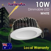 LUMMAX 10W Dimmable LED Downlight Kit 70mm Cutout  White