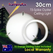 Lummax Tri Spike Oyster Ceiling Light with T5 Energy Saving Tube 30cm