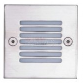 Carton of 120 x LED Square Recessed Wall Light
