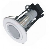 Carton of 50 x Energy Efficient Downlight With Frost Glass Cover - 70mm / 90mm Cutout