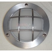 LUMMAX IP54 Aluminium Grid Outdoor LED Surface Mount 140mm Diameter