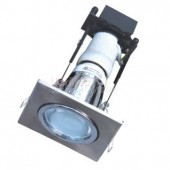 LUMMAX Square Energy Efficient Downlight - Frost Glass Cover - 70 / 90mm Cutout