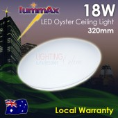 LUMMAX 18W LED Oyster Ceiling Light  320mm IP20 Sealed